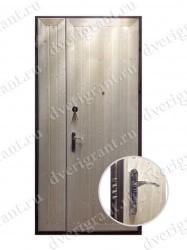 Нестандартная металлическая дверь для старого фонда - 25-19