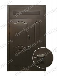 Нестандартная металлическая дверь для старого фонда - 25-20