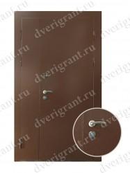 Нестандартная металлическая дверь для старого фонда - 25-21