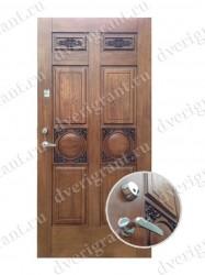 Нестандартная металлическая дверь для старого фонда - 25-22