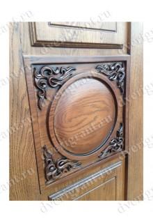 Нестандартная металлическая дверь в квартиру для старого фонда - 25-22