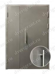 Нестандартная металлическая дверь для старого фонда - 25-23