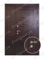 Нестандартная металлическая дверь для старого фонда - 25-24