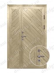 Нестандартная металлическая дверь для старого фонда - 25-25
