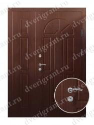 Нестандартная металлическая дверь для старого фонда - 25-26