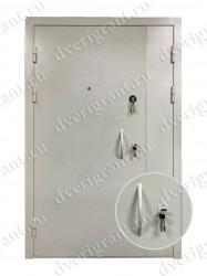 Нестандартная металлическая дверь для старого фонда - 25-28
