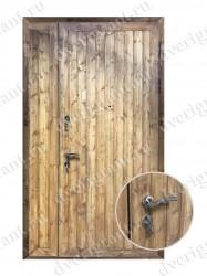Нестандартная металлическая дверь для старого фонда - 25-32