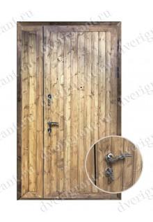 Нестандартная металлическая дверь в квартиру для старого фонда - 25-32