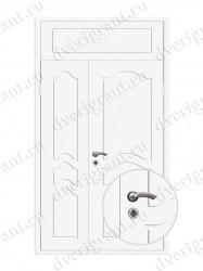 Нестандартная металлическая дверь для старого фонда - 25-34