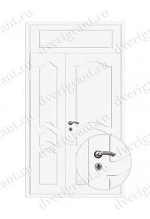 Нестандартная металлическая дверь в квартиру для старого фонда - 25-34