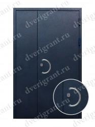 Нестандартная металлическая дверь для старого фонда - 25-35