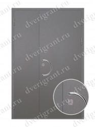 Нестандартная металлическая дверь для старого фонда - 25-37