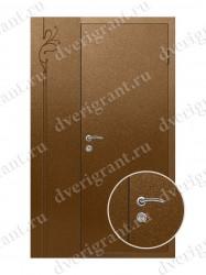 Нестандартная металлическая дверь для старого фонда - 25-38