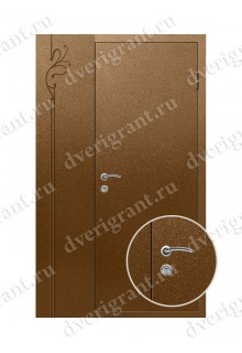 Нестандартная металлическая дверь в квартиру для старого фонда - 25-38