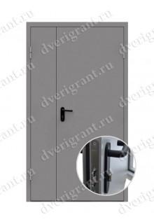 Противопожарная дверь EI-60 (01-ДПМ-2-60)