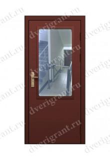 Противопожарная дверь с остеклением EI-60 (04-ДПМО-1-60) в Санкт-Петербурге