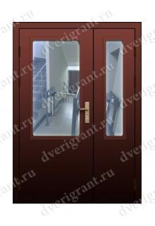 Противопожарная дверь с остеклением EI-60 (02-ДПМО-2-60)