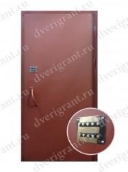 Металлическая дверь - 02-001