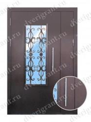 Металлическая дверь - 02-002