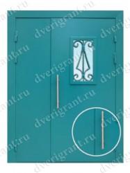 Металлическая дверь - 02-004