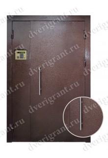 Металлическая дверь для подъезда - 02-005