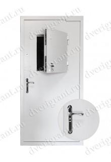 Металлическая дверь для кассовой комнаты - модель 03-004