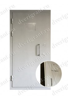 Металлическая дверь для оружейной комнаты - модель 04-001