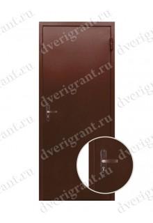 Металлическая дверь - модель - 06-008