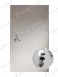 Входная металлическая дверь - модель 06-009