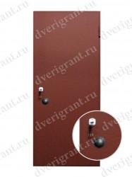 Входная металлическая дверь - 06-010
