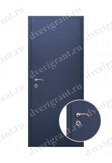 Внутренняя металлическая входная дверь - модель 09-012