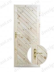 Металлическая дверь для дачи - 10-97