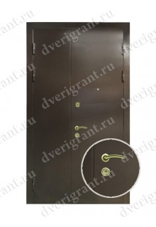 Нестандартная металлическая дверь в квартиру для старого фонда - 11-00