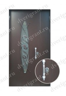 Металлическая дверь - модель - 12-001