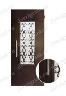 Металлическая дверь - модель - 12-007