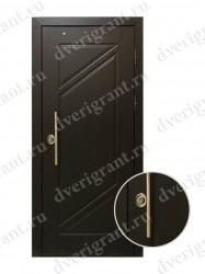Металлическая дверь - 12-008