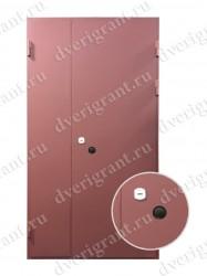 Металлическая дверь на заказ - 13-004