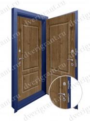 Двойная дверь в квартиру - модель 17-027