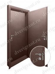 Двойная дверь в квартиру - модель 17-048