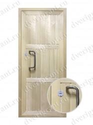 Металлическая дверь для дачи - 18-001