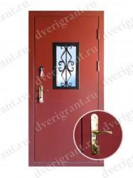 Металлическая дверь для дачи - 18-003