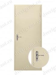 Металлическая дверь для дачи - 18-004