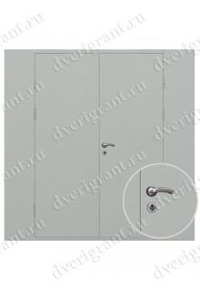 Техническая металлическая дверь 19-045