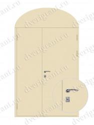 Металлическая дверь - 15-26