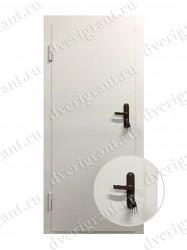 Входная металлическая дверь - 21-06