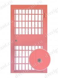 Входная металлическая дверь - 21-07