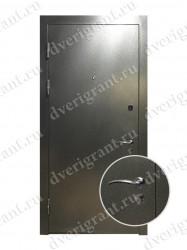 Входная металлическая дверь эконом класса - 21-10