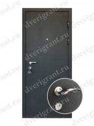 Входная металлическая дверь эконом класса - 21-11