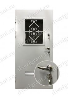 Металлическая дверь - 22-12
