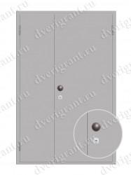 Строительная дверь - модель 23-004